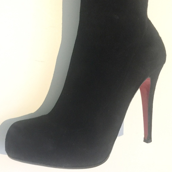 418d78597970 Christian Louboutin Shoes - Christian Louboutin Thigh High Stiletto Boots